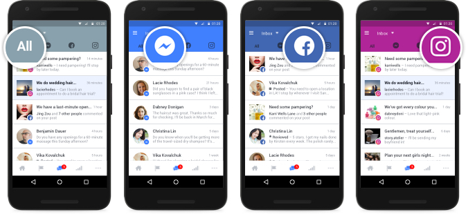 Facebook pages app update