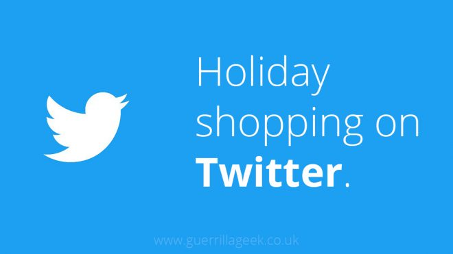 How Twitter helps holiday shoppers